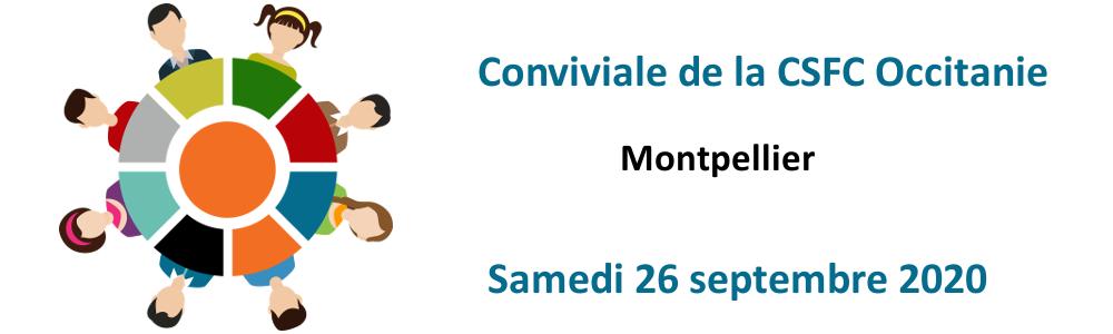 Prochaine Conviviale de la CSFC Occitanie le samedi 26/09/20